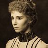 1890s : 1890s Hairstyles.  Photography: Tim Babiak.  Model: Sabrina Lotfi.  Wig and makeup:  Allison Lowery.