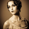 1920s : !920s hairstyles.  Photography: Tim Babiak.  Model: Ivy Negron.  Wig and Makeup; Allison Lowery