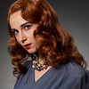 1940s : 1940s Hairstyles.  Photography: Tim Babiak.  Model: Sabrina Lotfi.  Wig and makeup: Allison Lowery