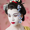 Geisha : Geisha Hairstyles.  Photography: Tim Babiak.  Model: Anna Fugate.  Wig and makeup: Allison Lowery